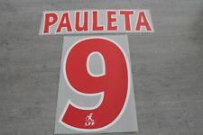 Flocage PAULETA n°9 PSG  patch shirt Paris Saint Germain maillot France Foot -