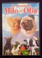 The Adventures of Milo and Otis DVD 2005 Excellent Condition Free Shipping EUC