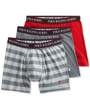 New Polo Ralph Lauren Men's 3-Pk. Boxer Briefs Choose Size & Color MSRP $42.50