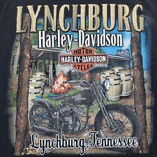 2013 Harley Davidson Lynchburg Tennessee Moonshiners Distillery T Shirt Large HD