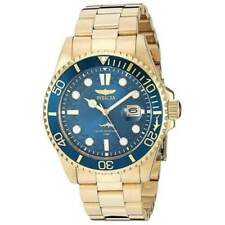 Invicta 30024 Men's Pro Diver Quartz Watch Stainless Steel Strap - Gold