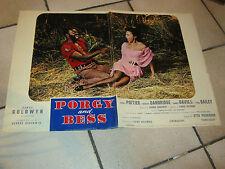 FOTOBUSTA,PORGY AND BESS SIDNEY POITIER OTTO PREMINGER POITIER D.Dandridge,BLACK