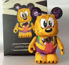"DISNEY VINYLMATION 3"" HOLIDAY HALLOWEEN SPOOKY 2 WEREWOLF PLUTO 2012 TOY FIGURE"