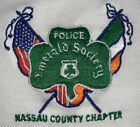NCPD Nassau Police Polo T-Shirt Sz L Long Island NYC NYPD New Emerald Society