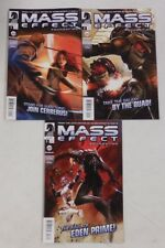 MASS EFFECT Foundation # 1 2 3 Comic Lot NM/UNREAD ~ DARK HORSE ~ 1st PRINTS