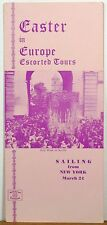 1953 American Express Easter Trips to Europe vintage brochure Seville cover b