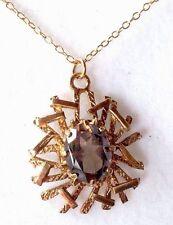 Quartz Pendant/Locket Vintage Fine Jewellery (1970s)