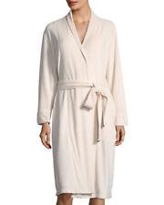 NEW NWT hole White Terry Cloth Natori Himalaya Spa Long Sleeve Robe Sz S Small