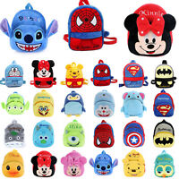 Toddler Kids Baby Boys Girls 3D Cartoon Animal Backpack School Bag Kindergarten