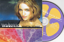 CD CARTONNE CARDSLEEVE MADONNA BEAUTIFUL STRANGER 2T DE 1999