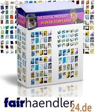 285 eCOVER TEMPLATES Vorlagen eCovers DIGITALARTIKEL Grafik Webseiten MRR LIZENZ
