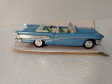 New Ray 1958 Blue Buick Century Convertible 1:43 Scale Diecast dc2609