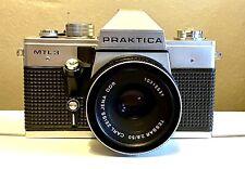Vintage Praktica MTL3 camera + Carl Zeiss Jena DDR Lens - ***EXCELLENT/MINT***