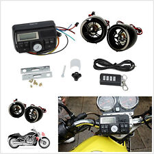 Wireless Bluetooth Anti-theft Motorcycle FM USB SD Audio Stereo MP3 Music Player
