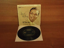 Nat King Cole : Love Is The Thing : 4 Track EP : Capitol Records /  EAP1-824