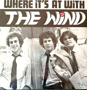 The Wind - Where It's At With The Wind. US 1982 LP Sealed & Mint.