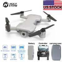 Holy Stone HS510 FPV Selfie Drone with 4K HD Video Camera Foldable GPS RTH+ case