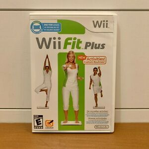 Wii Fit Plus Nintendo Wii Game Complete w/ Manual MINT CONDITION