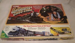 """TYCO """"Chattanooga Choo-Choo"""" Train Set Complete + BONUS TRACK & 2 CARS #7425 !!"""