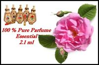 Natural Bulgarian  Essential Parfume Rosa Damascena 100% ROSE  2.1 ml