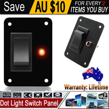 LED Dot Light 12V Car Marine Boat Rocker ON/OFF Toggle Switch Tool Set AU NSW