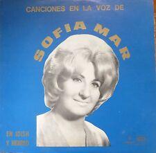 yiddish jewish hebrew LP-SOFIA MAR-canciones en la voz de- made in argentina
