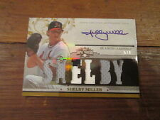 2014 TOPPS TRIPLE THREADS--AUTO--SHELBY MILLER--CARDINALS--#5 OF ONLY 9!!!