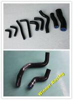 Radiator + Heater Hose Fit Nissan Pulsar GTi-R GTiR RNN14 SR20DET Black