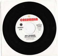 NEIL DIAMOND - THE LAST PICASSO Ultrarare 1974 US PROMO Single Release! M-