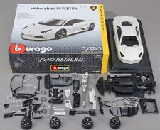 Bburago 1:24 Lamborghini Reventon Metal Assembly KIT Model Car White