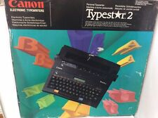 Canon Electric Typewriter - Typestar 2 - Boxed And Working