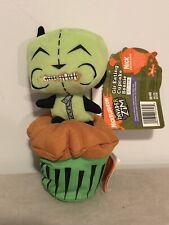 Rare Hot Topic Invader Zim Gir Eating Cupcake Beanbag Plush Nwt Nickelodeon