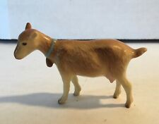 Adorable Vintage Hagen Renaker Miniature Mama Seal Goat with Bell Figurine