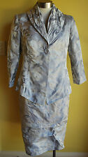 +++ NZ Designer Lisa Law Silver Two Peice Size 10 NWT RRP $485.00+++