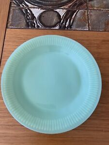 1 Jadeite Jadite Jane Ray Salad Dessert Luncheon Plates Fire King 7-1/2""
