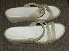 Crocs Womens Slip On Sandal Size 9 Clean footbed