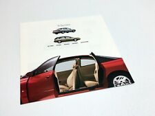 2000 Saturn S-Series Colours Interiors Equipment Specifications Brochure