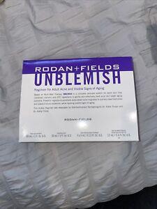 New Sealed Mini Rodan and Fields Unblemish TRAVEL SIZE Regimen Exp 1/2022