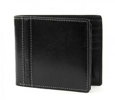 bugatti Monedero Gola Wallet with Flap Black