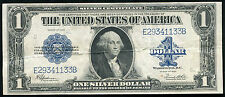 "(2) CONSECUTIVE 1923 $1 ONE DOLLAR ""HORSEBLANKET"" SILVER CERTIFICATES"