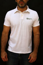 Henry Cotton's Golf Mens White Cotton Polo Shirt Short Sleeve M 1020 Milleventi