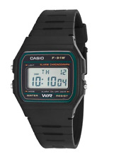 Casio F-91W-3DG Black Resin Strap Watch for Men and Women
