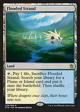 Magic the Gathering MtG Khans of Tarkir Rare Flooded Strand #233