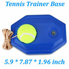 Tennis Ball Back Base Trainer Set w/ Rubber Rope Rebound Ball Practice Training