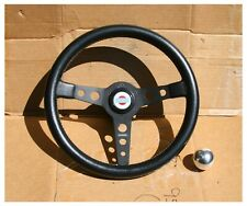 Vintage MOMO Prototipo Datsun Roadster 1600 2000 Steering Wheel with shift knob