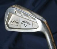 Callaway Razr Forged 6 Iron Project X Flighted 5.5 Steel Shaft