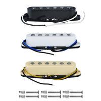 FLEOR Alnico 5 Strat Guitar Pickup Single Coil Neck/Middle/Bridge Pickup Set