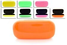 New Protective Hard Case Box Cover In Neon Colors For Sunglasses & Eyeglasses.