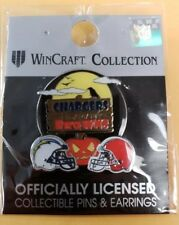 2018 Los Angeles Chargers VS Cleveland Browns 10/4/18 GAME DAY PIN Free Shipping