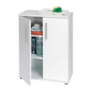 My Home Utility Cupboard White